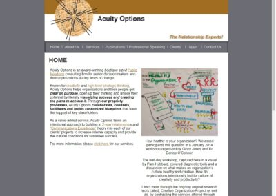 Acuity Options